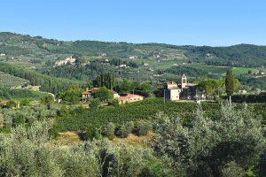 Agriturismo Il Santo appartements de vacances climatisés dans la region du Chianti