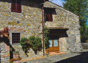 """Agriturismo """"Il Santo"""" vicino Greve in Chianti, Toscana"""